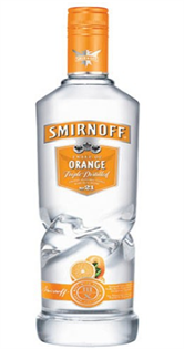 Smirnoff Vodka Orange 750ml
